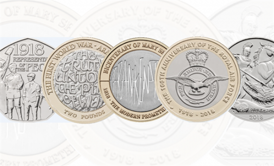 2018 Royal Mint Coins
